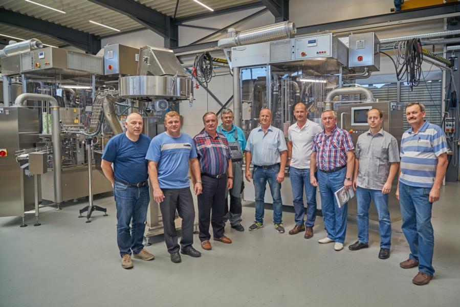 Приемка оборудования компании Grunwald нашими клиентами