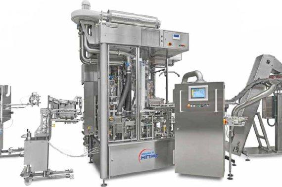 Ротационная  разливочная машина для максимальной технологической гибкости
